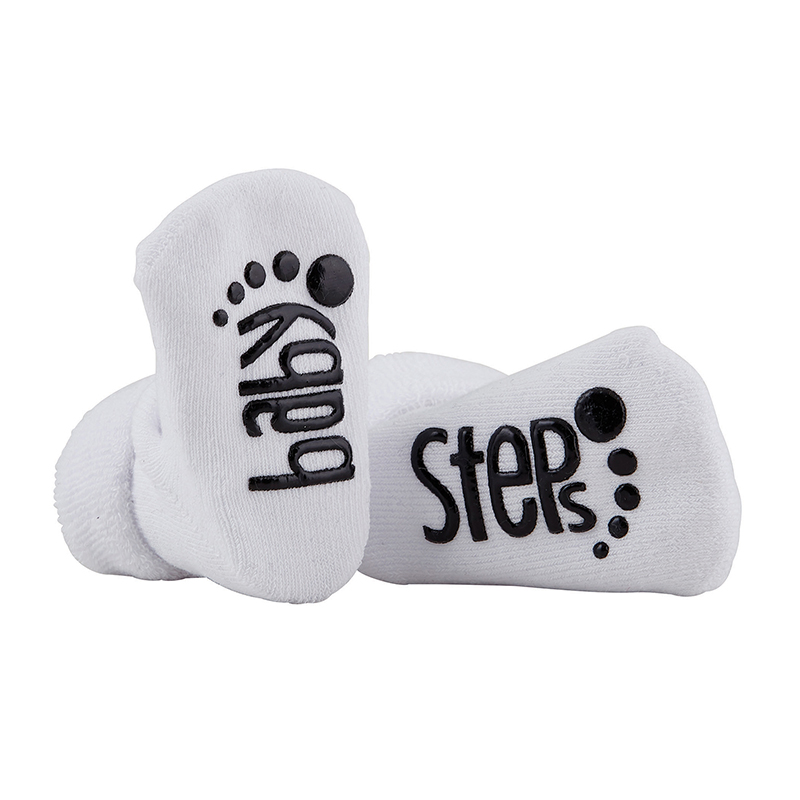 Socks - Baby Steps - White, 3-12 months