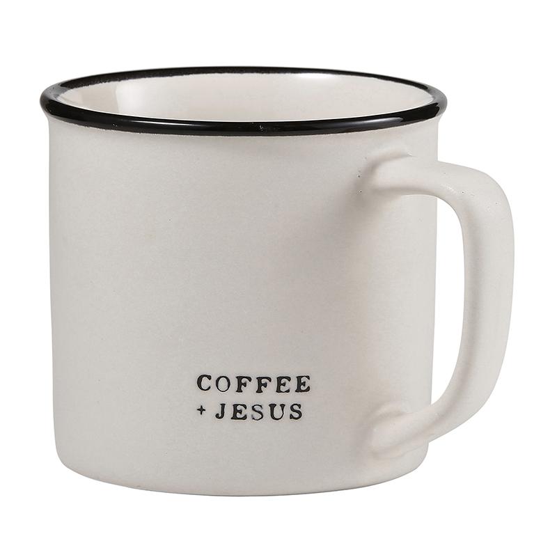 Face to Face Coffee Mug - Coffee + Jesus