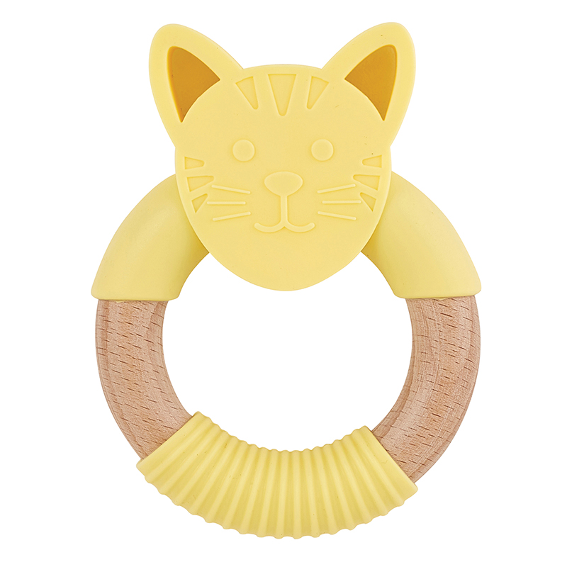Silicone Teether - Cat