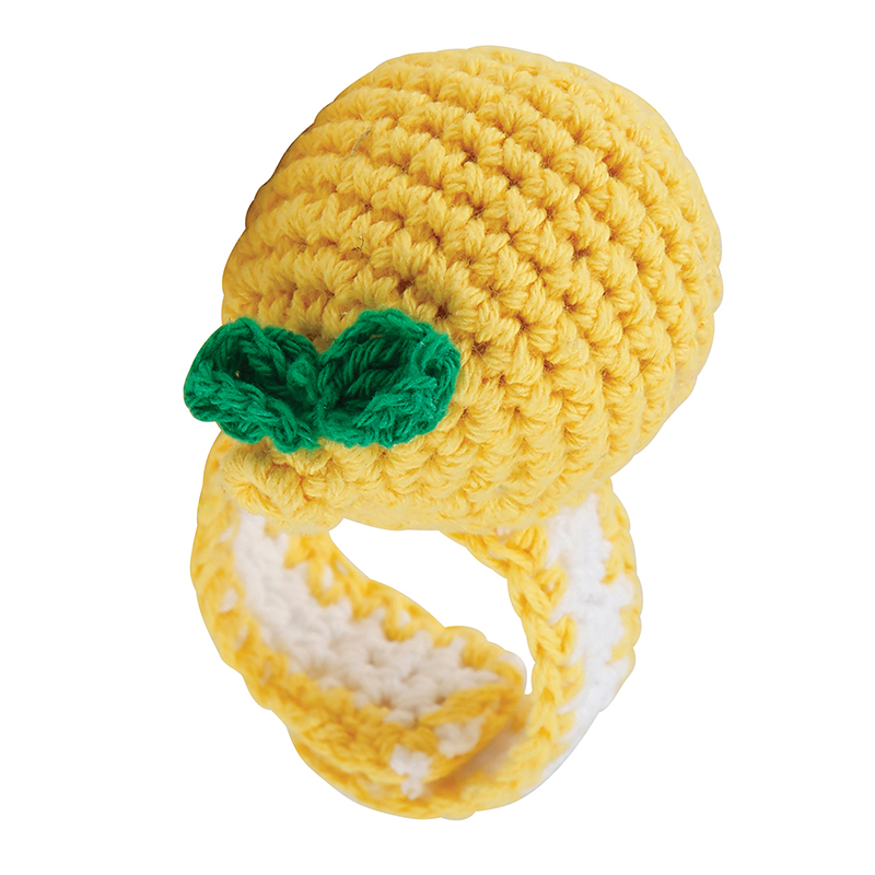 Crochet Wristlet - Lemon