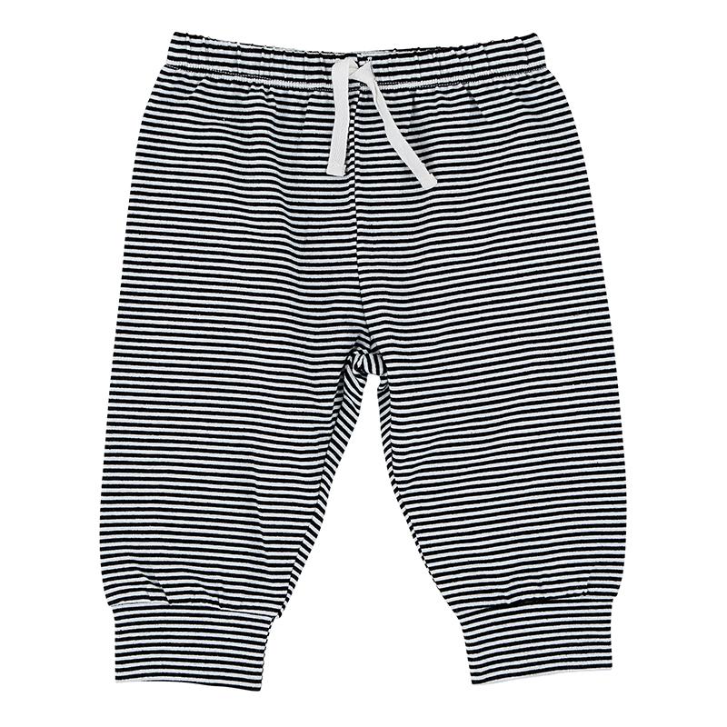 Pants - B + W Stripe