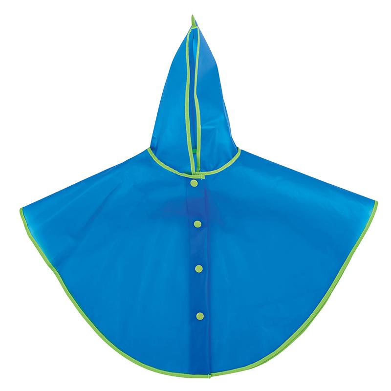 Rain Poncho - Blue