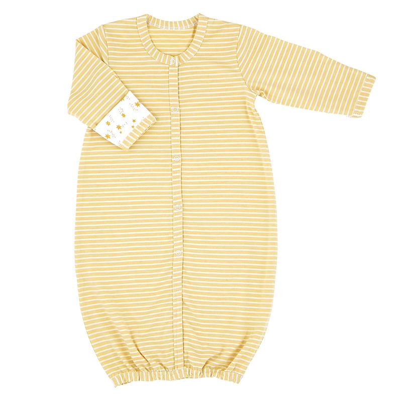 Gown - Gold Star Stripe