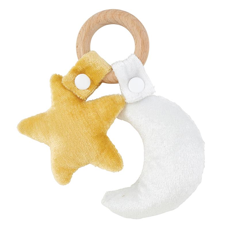 Toy - Star & Moon Wood