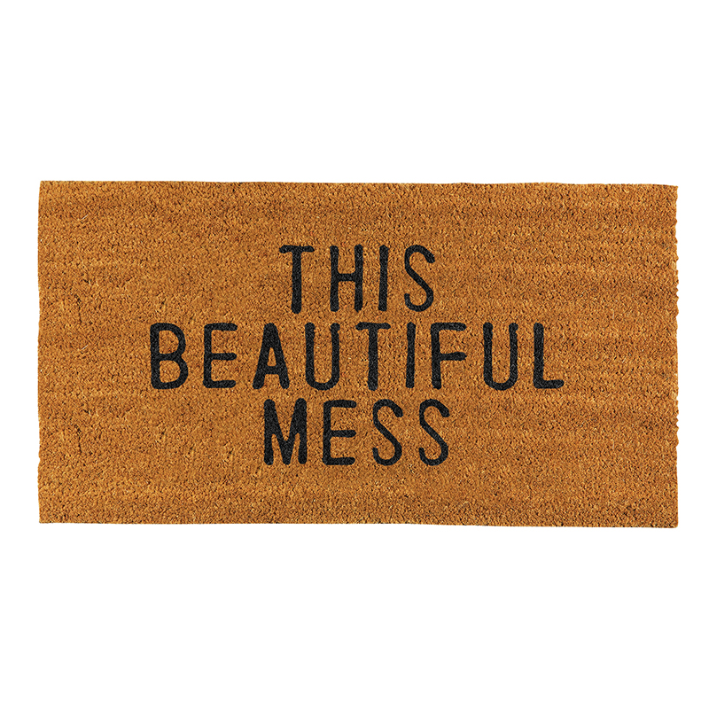 Face to Face Door Mat - This Beautiful Mess