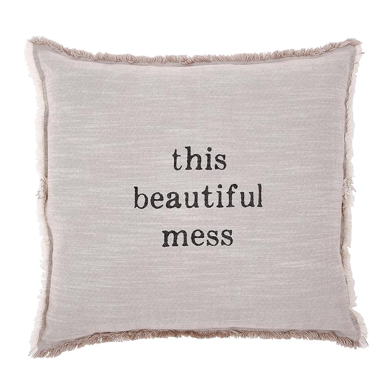 Face to Face Square Sofa Pillow - This Beautiful Mess