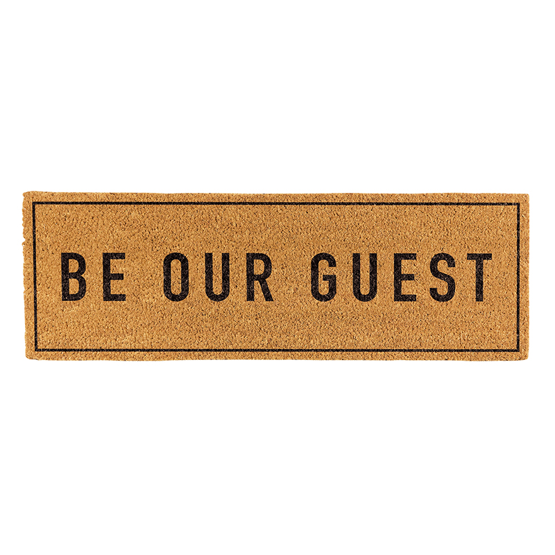 Door Mat - Be Our Guest