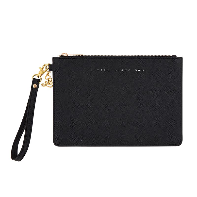 Fashion Wristlet - Little Black Bag