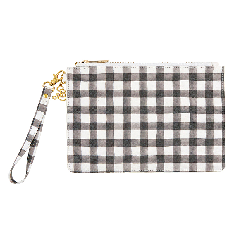 Fashion Wristlet - Buffalo Check