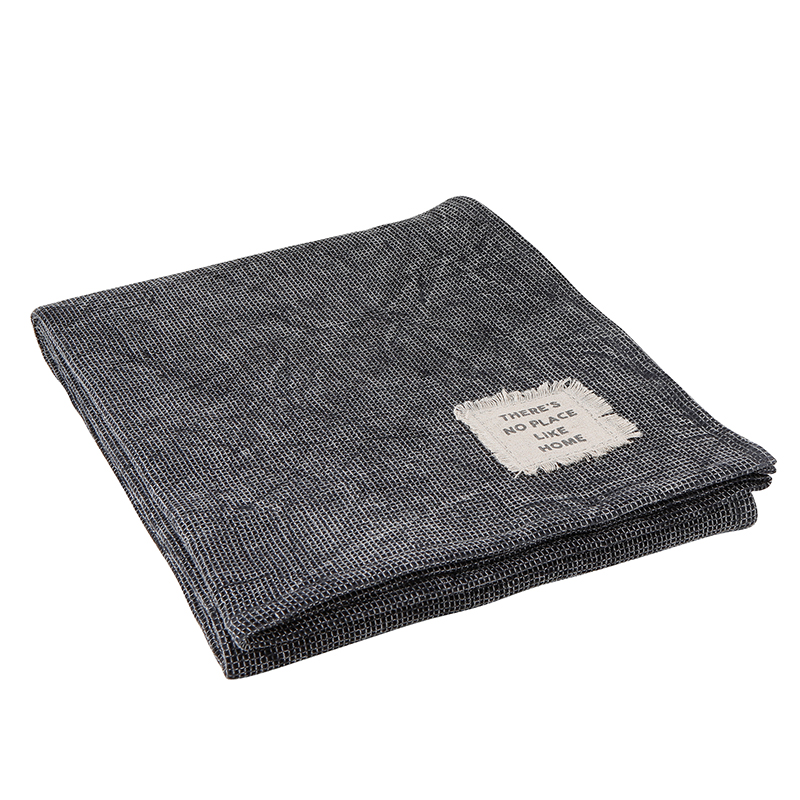Blanket - Charcoal Texture Throw