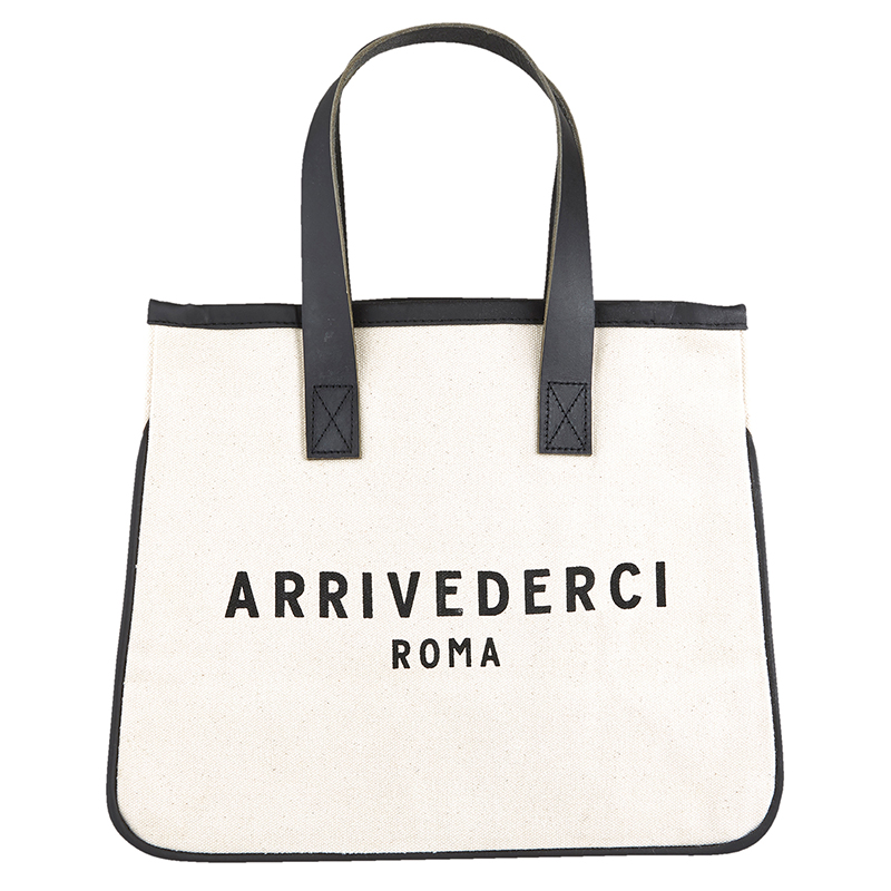 Mini Canvas Tote - Arrivederci