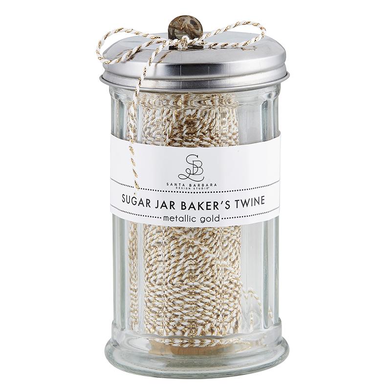 Sugar Jar Bakers Twine - Metallic Gold