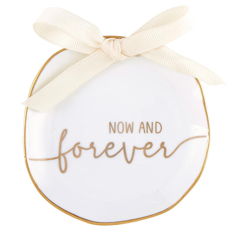 Ring Bearer Dish - Now and Forever