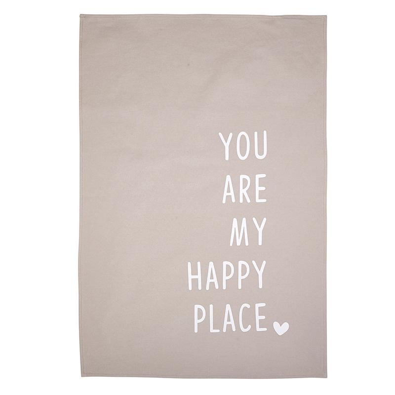 Tea Towel - Happy Place