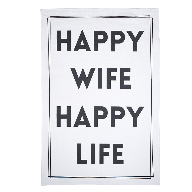 Tea Towel - Happy Wife