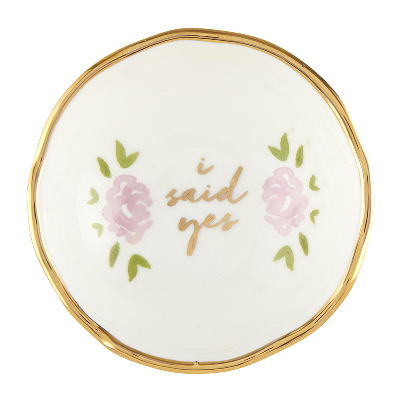 Jewelry Dish - I Said Yes