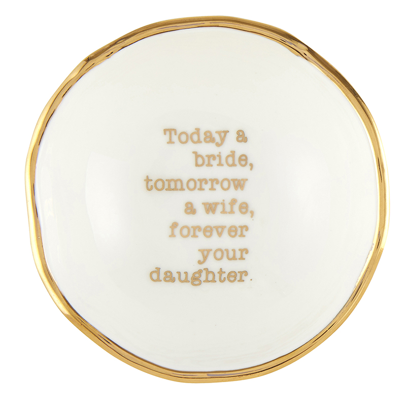 Jewelry Dish - Forever Your Daughter