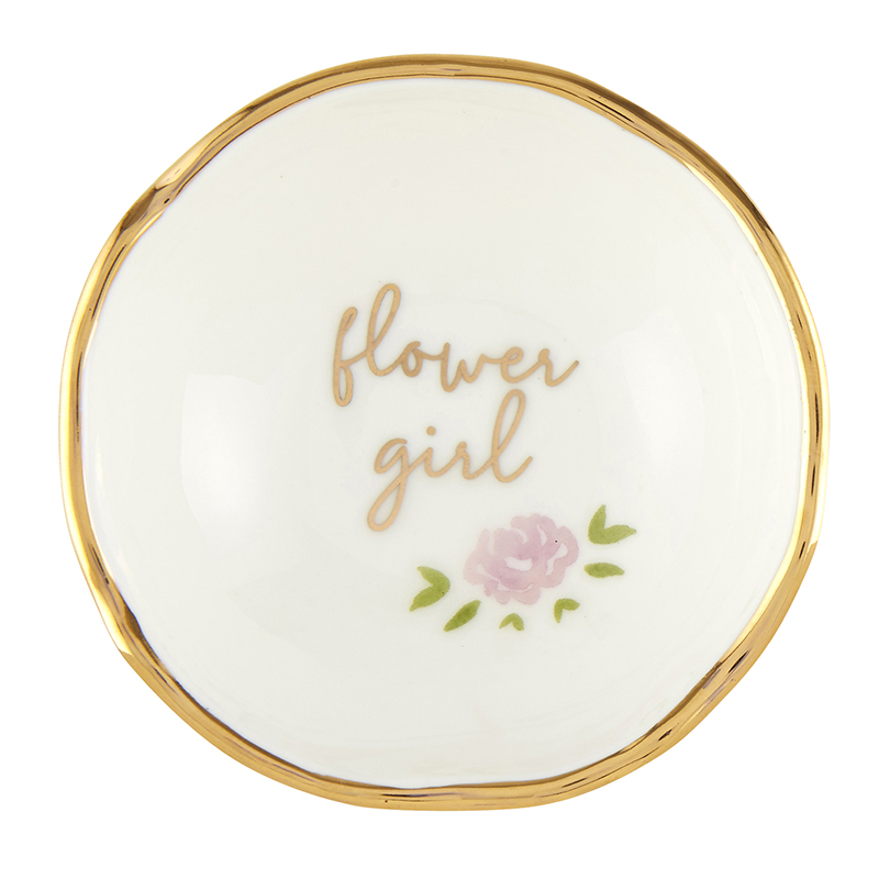 Jewelry Dish - Flower Girl
