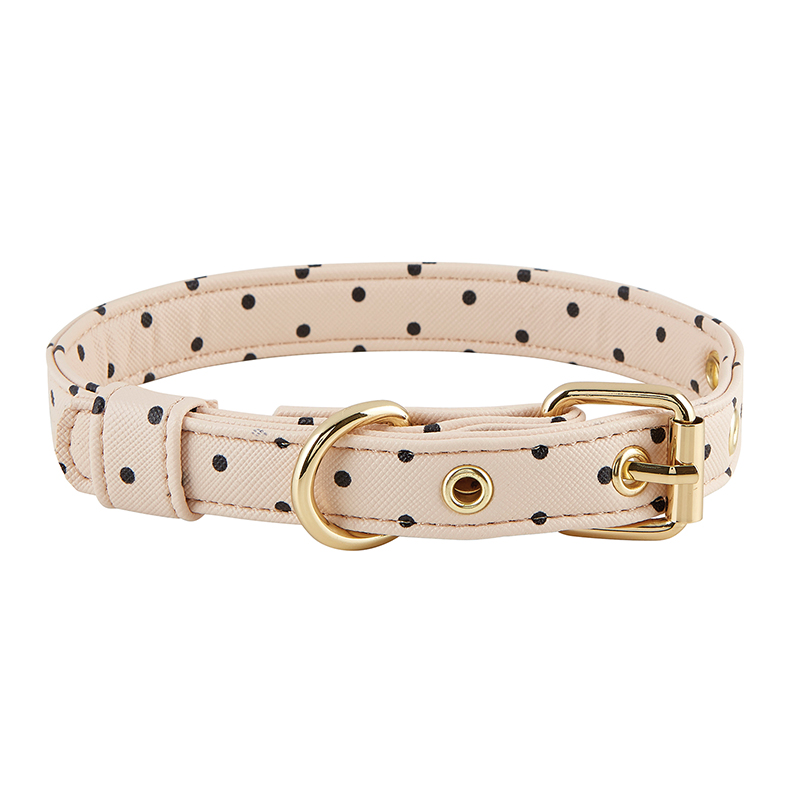 Saffiano Collar - Blush