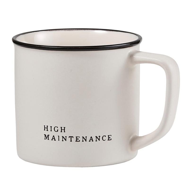Face to Face Coffee Mug - High Maintenance