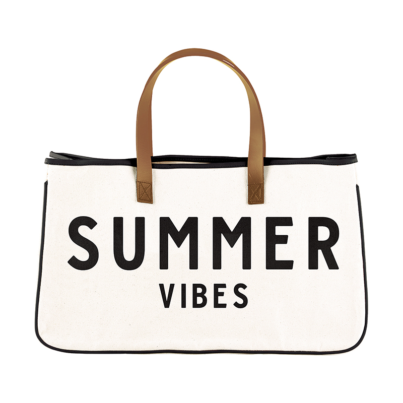 Canvas Tote - Summer Vibes