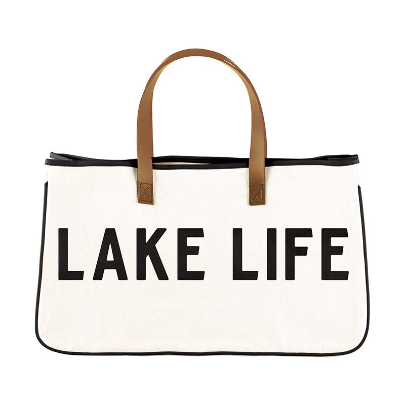 Canvas Tote - Lake Life