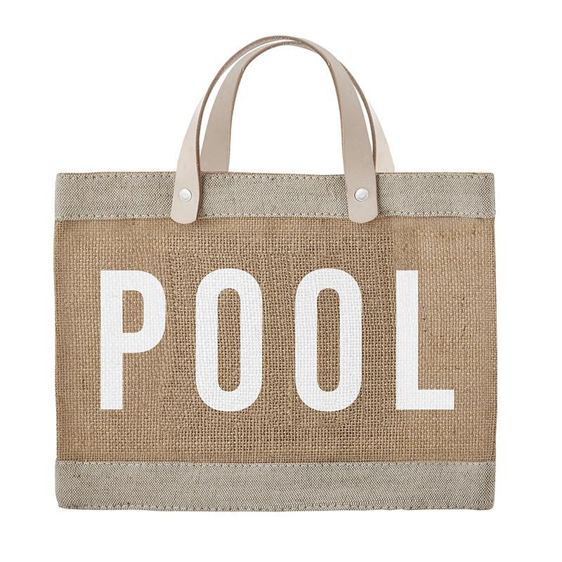 Mini Market Tote - Pool