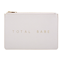 Fashion Pouch - Total Babe - Taupe Grey