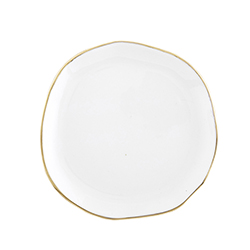 Ceramic Tray - Small - White