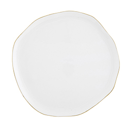 Ceramic Tray - Large - White