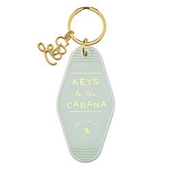 Vintage Motel Key Tag - Cabana