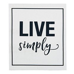 Organic Dishcloth - Live Simply