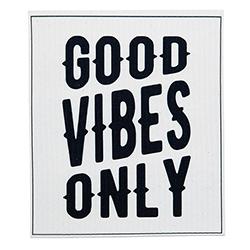 Organic Dishcloth -  Good Vibes