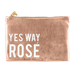Rose Gold Pouch - Yes Way Rosé