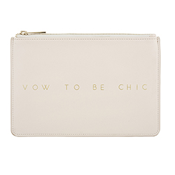 Fashion Pouch - Vow to Be Chic - Blush