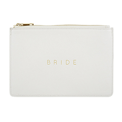 Fashion Pouch - Bride - Pearl White