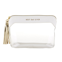Clear Travel Pouch - Best Day Ever