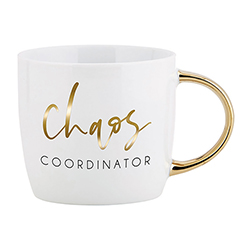 Gold Handle Mug - Chaos Coordinator