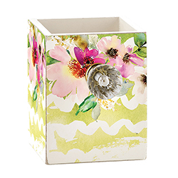Empty Pen Holder - Spring Floral