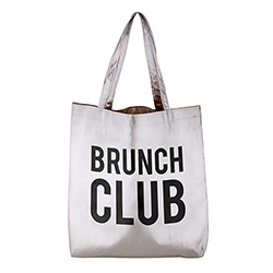 Platinum Tote - Brunch Club