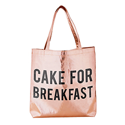 Rose Gold Tote - Cake for Breakfast