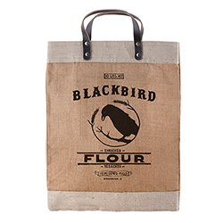 Heirloomed - Farmer's Market Tote - Blackbird