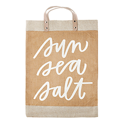 Farmer's Market Tote - Sun Sea Salt