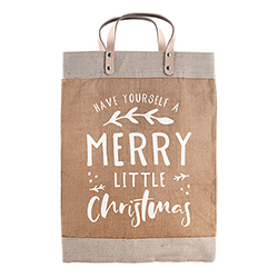 Farmer's Market Tote - Merry Christmas