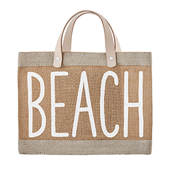 Farmer's Market Mini Tote - Beach