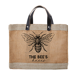 Farmer's Market Mini Tote - Bees Knees