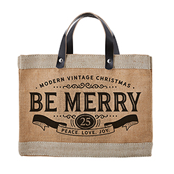 Farmer's Market Mini Tote - Be Merry