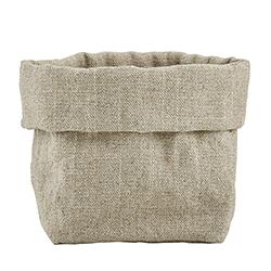 Linen Pouch - Grey
