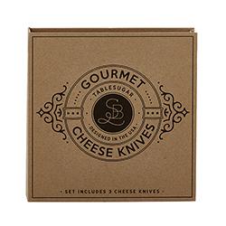 Cardboard Book Set - Gourmet Cheese Knives