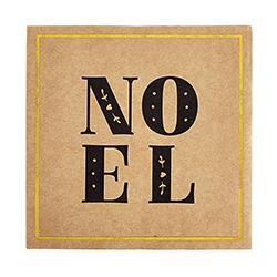 Cardboard Coasters - Noel